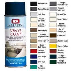 sem color coat chart sem marine vinyl coat spray 787765 gander mountain