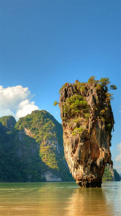 wallpaper ko tapu thailand islands mountains rocks