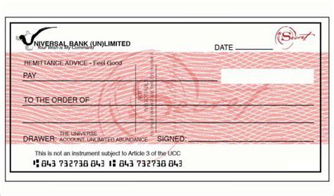 The Secret Of Blanc blank cheque template 7 documents in pdf psd