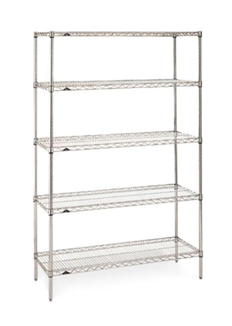 2448ns metro stainless steel wire shelf metro shelving
