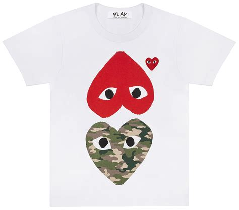 collection 2018 new play comme des garcons t shirts コムデ