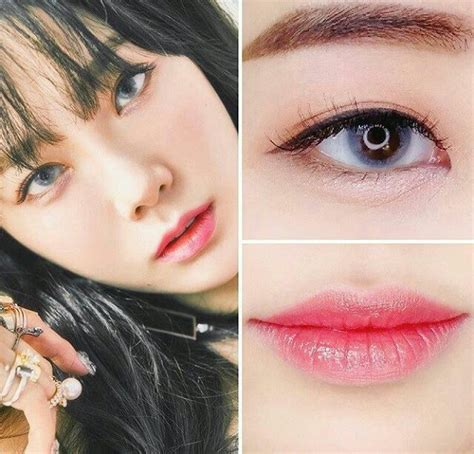 tutorial make up idol korea kpop makeup inspira 231 227 o taeyeon kpop style pinterest