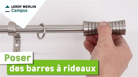 Barres De Rideaux Leroy Merlin by Comment Poser Des Barres 224 Rideaux Leroy Merlin