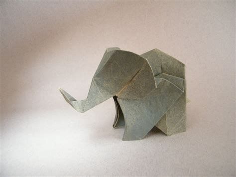 How To Make An Elephant With Paper - 31 origami elephants to fold for the elephantorigamichallenge