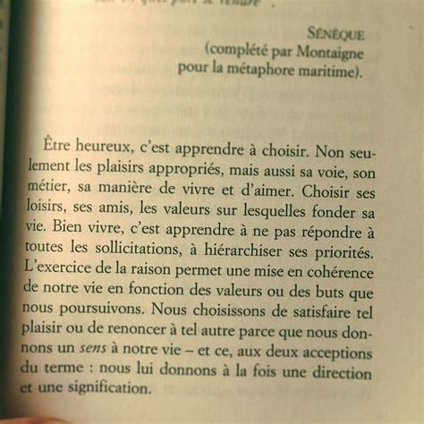 libro vivre une vie philosophique quot le bonheur un voyage philosophique quot de fr 233 d 233 ric lenoir 224 lire absolument et 224 relire et 224