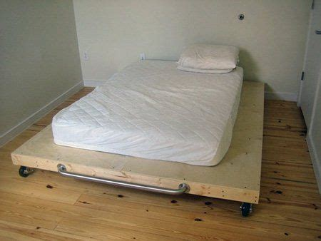 platform bed on wheels how to make a platform bed on the cheap