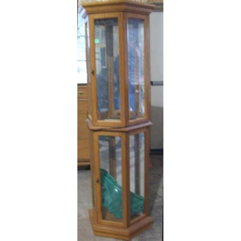 mirror backed display cabinets lighted 3 sided mirror backed display cabinet 5 glass shelves