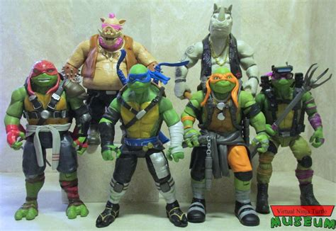 Figures Out Of mutant turtles out of the shadows 11 inch