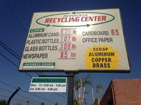 monrovia recycling center recycling center monrovia ca