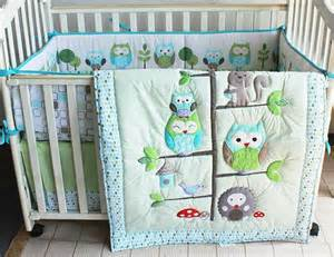 Baby Bedding Set Owl Aussiebuby Baby Bedding Crib Cot Sets 7 Owl Theme Bedding Baby Shower Gifts