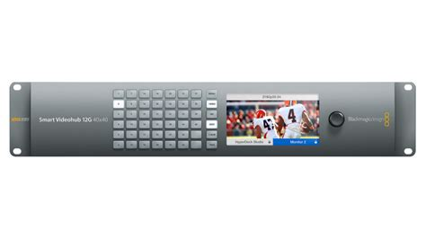 Blackmagic Design Smart Videohub 40x40 smart videohub 12g 40x40 blackmagic design mediateknik