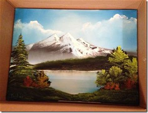 bob ross paintings sold bob ross paintings and certification paperblog