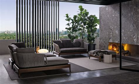 Italian Patio Furniture Italian Furniture Brands Minotti New Project For Outdoor