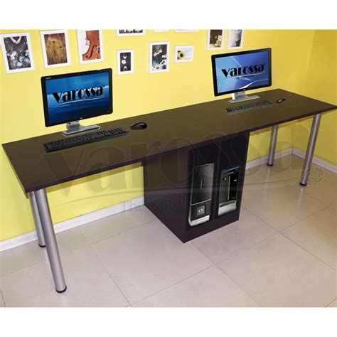 Computer Desk For Two Computers 17 Best Images About Office Furniture On Pinterest