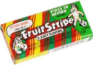 fruit stripe chewing gum