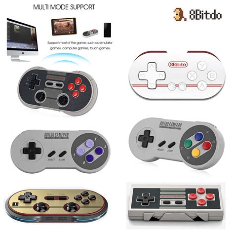Stik Hp Android Bluetooth Gamepad Android 8bitdo wireless bluetooth gamepad joystick controller for ios android pc mac