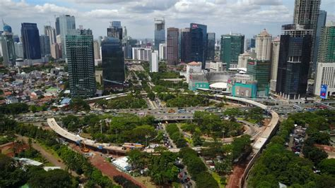 Drone Jakarta jakarta indonesia april 2017 aerial drone flying