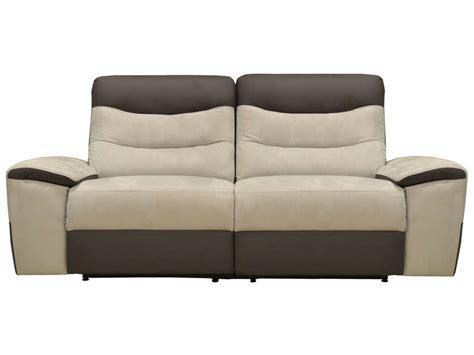 canapé de relaxation electrique canap 195 169 relax conforama