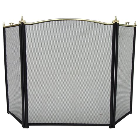 Fireplace Safety Cover by Guard Freestanding Panel Spark Fireplace Screen