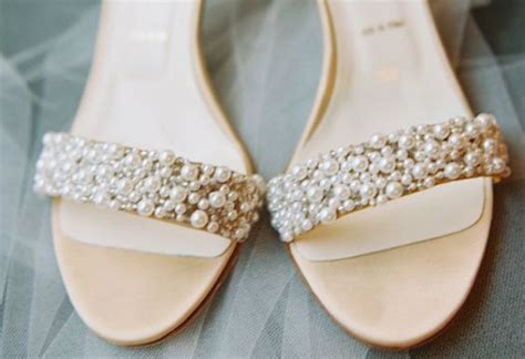 Pearl Bridal Shoes by Ten Bridal Shoes To Make You Drool