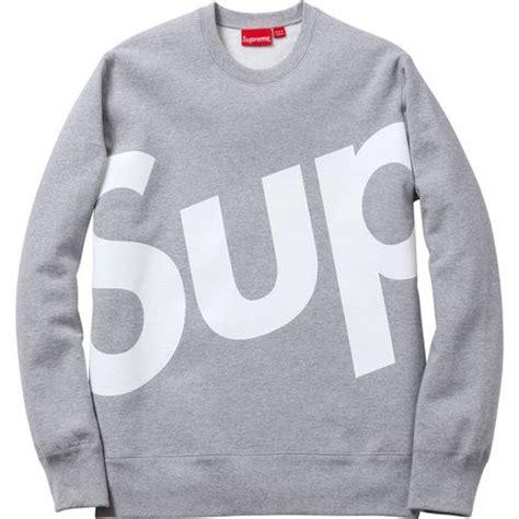 Jaket Sweater Supreme Crewneck the world s catalog of ideas
