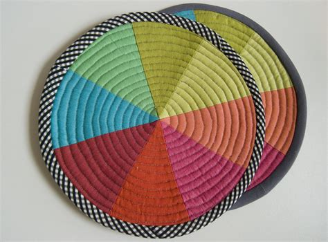 pattern of color wheel coming new pattern for color wheel coasters and potholder
