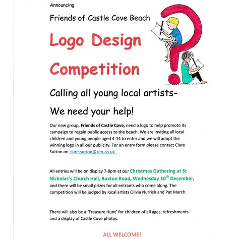 Logo Design Contest Uk | logo design competition sandsfoot castle the rodwell trail