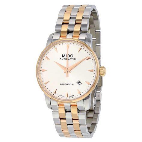 Mido Dorada M0096103302100 reloj mido dorado