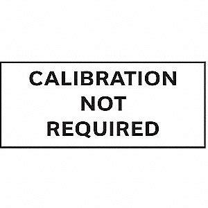 printable calibration stickers stranco inc calibration label english 5 8in h pk350