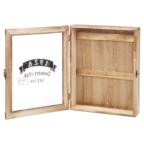 wall mounted key cabinet wooden key box wooden wall mounted storage cabinet holder