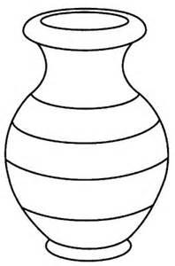 coloriage valentin fleurs dans un vase