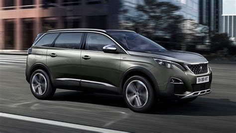 peugeot suv 2017 peugeot 5008 suv revealed car carsguide