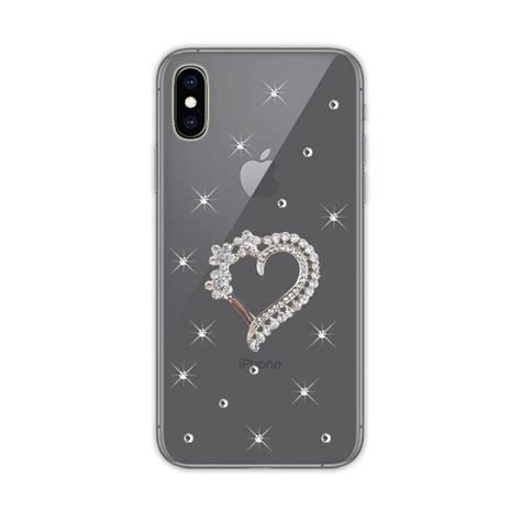 3d top phone for iphone x xs max xr for iphone 5 se 6 7 8 plus bling shiny