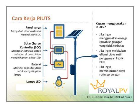 Lu Jalan Solar Cell lu jalan tenaga surya pju solar cell terbaik
