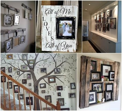 different picture frames 15 creative ways to display your picture frames