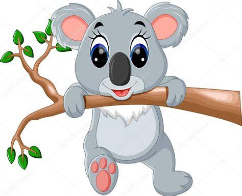imagenes kawaii de koalas caricatura lindo koala vector de stock 130099460