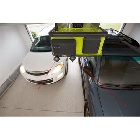 Garage Door Laser Sensor Ryobi Smart Garage Door Opener Has A Fan Laser Beams