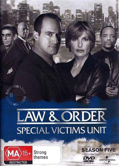 beverly d angelo svu law and order svu season 5 new dvd 5050582563214 ebay
