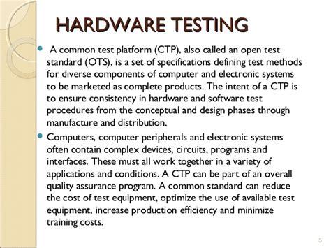 hardware test automated hardware testing using python