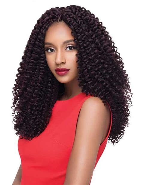synthetic hair active with hot water outre x pression synthetic crochet braid water wave loop