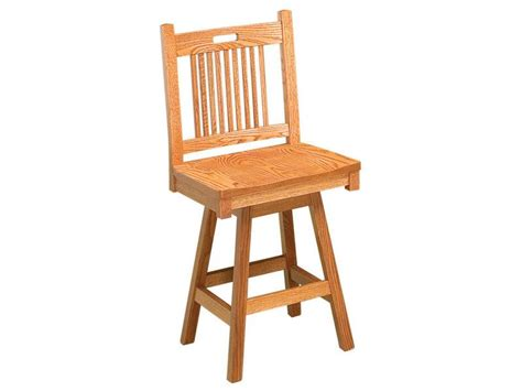 Mission Swivel Bar Stools by Bar Stools Amish Furniture By Brandenberry Amish Furniture