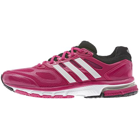 adidas womens supernova sequence running shoes pink