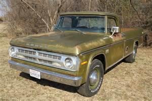 1971 Dodge Truck 1971 Dodge D200 Cer Special Sweptline 3 4 Ton Up