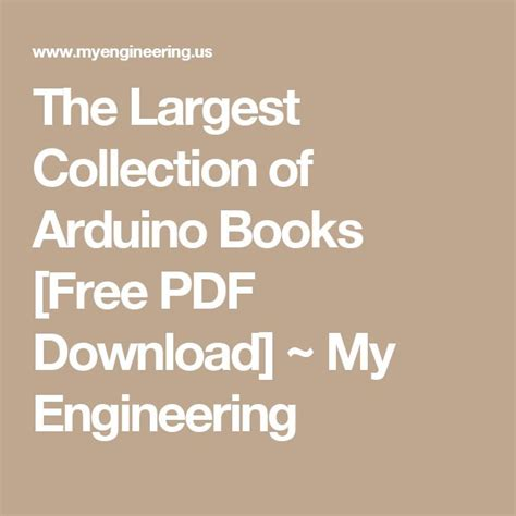 index of engineering books pdf 1000 ideas about arduino books on arduino