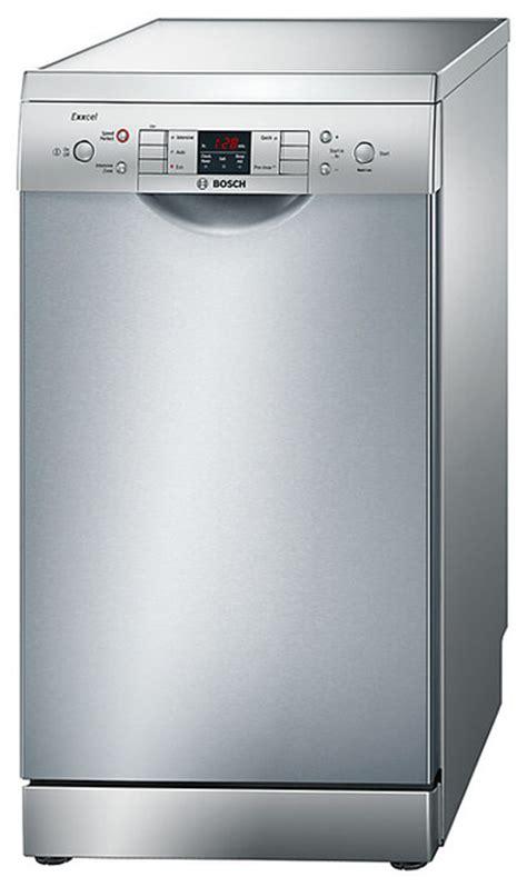 bosch kitchen appliances st louis bosch dishwashers bosch exxcel slimline dishwasher stainless steel
