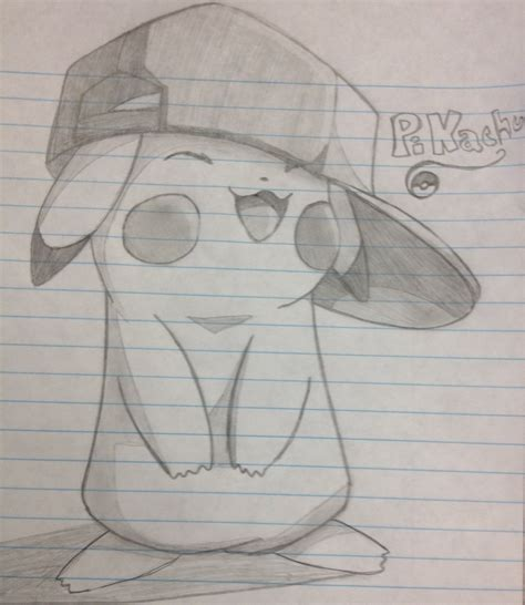 cute easy things to draw when your bored cute pikachu to draw when bored drawing ideas
