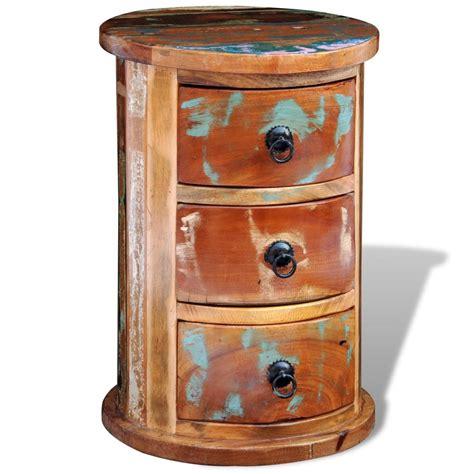 armoire bois recyclé acheter armoire ronde en bois solide recycl 233 avec 3