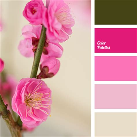 magenta color combination pink and green color palette ideas