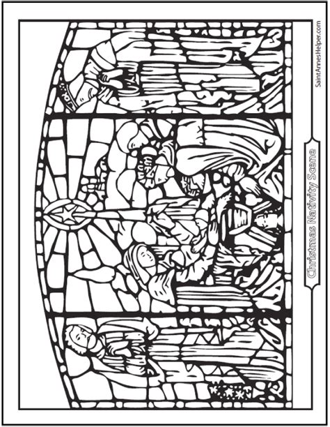 coloring pages christmas stained glass 21 stained glass coloring pages church windows