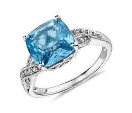 Light Blue Sapphire Ring Blue Topaz Wedding Rings Mkrs Info